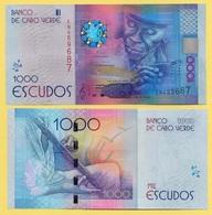 Cape Verde 1000 Escudos P-73 2014 UNC Banknote - Cabo Verde