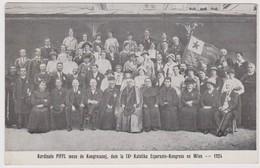 AKEO Card About 9th Esperanto Catholic Conference In Vienna - 9a Katolika Kongreso En Vieno 1924 - Esperanto