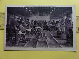 Ardoisieres Reunies Rimogne Ardennes Atelier Des Ouvriers - Industry