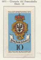 PIA - GERMANIA - 1975 : Giornata Del Francobollo   -  (Yv 715) - Giornata Del Francobollo
