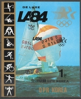 Corea Del Nord North Korea 1983 - Vela Sailing Foglietto Non Dentellato Minisheet Imperforate MNH ** - Vela