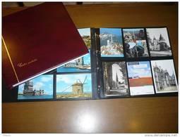 CLASSEUR ALBUM POUR 240 CARTES POSTALES FOND NOIR CP Anciennes PV CONSEILLE 54.90  PROMO 20 FEUILLES CARTE POSTAL - Materiaal