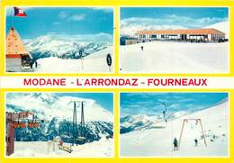 Dép 73 - Modane Fourneaux - Station De L'Arrondaz - Multivues - Semi Moderne Grand Format - état - Modane