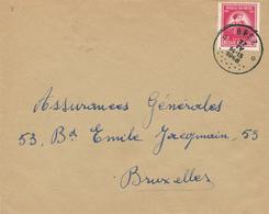 397/29 - Enveloppe TP 749 De Gerlache Cachet RELAIS à Etoiles BEEZ 1948 Vers BXL - Poststempels/ Marcofilie