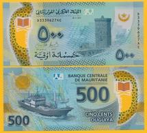 Mauritania 500 Ouguiya P-new 2017 UNC Polymer Banknote - Mauritania