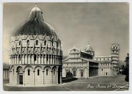 PISA   PIAZZA  DEL  DUOMO           (VIAGGIATA) - Pisa