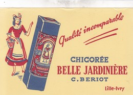 BUVARD / CHICOREE BELLE JARDINIERE / TTBE - Café & Thé