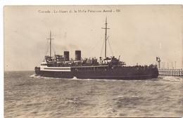 Oostende  La Malle Princesse Astrid - Ostende - Menu Verso - Menus