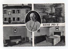 Riese Pio X° (Treviso) - Cartolina Multipanoramica - Viaggiata Nel 1957 - (FDC16101) - Treviso