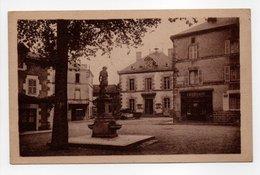 - CPA BESSINES (87) - Place De La Mairie 1946 (PHARMACIE) - Photo CIM - - Bessines Sur Gartempe