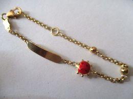 Bracciale Oro Coccinella Per Bambino/a - Bracelets