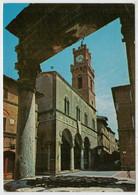 PIENZA  (SI)    POZZO  DEI  CANI    E  TOORE  DELL' OROLOGIO              (NUOVA) - Italia
