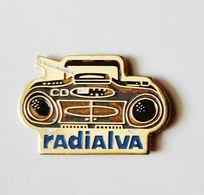 Pin's Poste Radio Radialva - 0789R - Trademarks