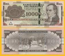 Paraguay 10000 (10,000) Guaranies P-A238 2017 UNC Banknote - Paraguay