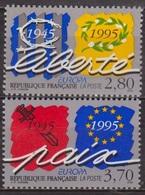 Europa - FRANCE - Paix Et Liberté - N° 2941-2942 ** - 1995 - France