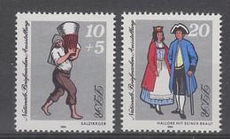 PAIRE NEUVE D'ALLEMAGNE ORIENTALE - EXPOSITION PHILATELIQUE NATIONALE A HALLE N° Y&T 2514/2515 - Kostums