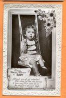 SPR601, Bébé Sur Une Balançoire, Circulée Sous Enveloppe - Neonati