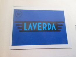 N° 67 LAVERDA (sticker)  IMAGE DE RECUPERATION EN TBE Années 70 MOTO-PARADE AMERICANA MUNICH Genre PANINI - Altri