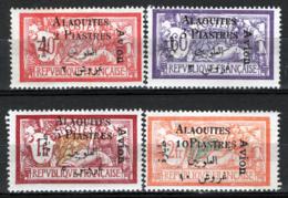 Alaouites 1925 Y.T.A1/4 */MH VF/F - Alaouites (1923-1930)
