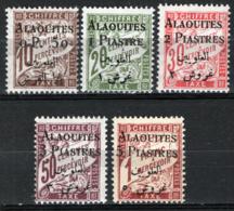 Alaouites 1925 Segnatasse Y.T.S1/5 */MH VF/F - Alaouites (1923-1930)