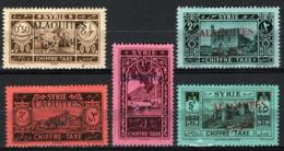 Alaouites 1925 Segnatasse Y.T.S6/10 */MH VF/F - Alaouites (1923-1930)