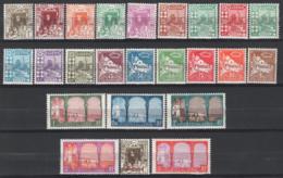 Algeria 1926 Y.T.34/57 */MH VF/F - Unused Stamps