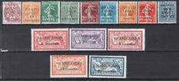 Gran Libano 1924 Y.T.1/14 */MH VF/F - Great Lebanon (1924-1945)