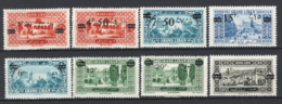 Gran Libano 1926 Y.T.75,77/83 */MH VF/F - Great Lebanon (1924-1945)