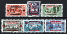Gran Libano 1928 Y.T.116/121 */MH VF/F - Great Lebanon (1924-1945)