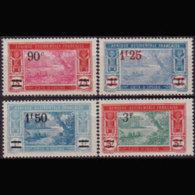 IVORY COAST 1927 - Scott# 86-9 River Surch. 90c-3f MNH - Ivory Coast (1960-...)