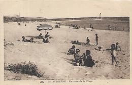 29, Finistère, AUDIERNE, Un Coin De La Plage, Scan Recto Verso - Audierne