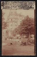 Cpa Carte Photo Paris 16e Travaux De Voirie Rue Des Sablons Avenue Georges Mandel BT233 - District 16