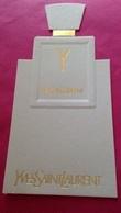 Y  De   YVES SAINT LAURENT - Perfume Cards