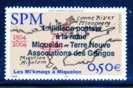 SAINT PIERRE ET MIQUELON - N° 819 *  (2004) - St.Pierre & Miquelon