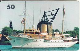 DENMARK(chip) - Boat, 07/97, Used - Denmark