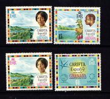 GRENADA    1969    Carifta  Expo  96   Set  Of  4    MH - Grenada (...-1974)