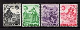 GRENADA    1970    Pirates   Set  Of  4    MH - Grenada (...-1974)