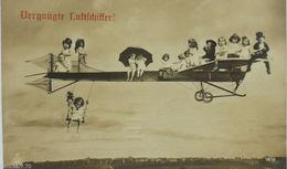 """Flugzeug, Kinder""  1912 ♥  - Flugwesen"