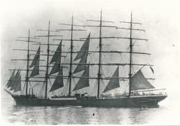 Argentique Sailing Ship Voilier Bateau Jurgen Meyer Preussen Deutschland - Bateaux