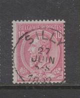 COB 46 Oblitération Centrale SILLY - 1884-1891 Leopoldo II