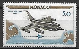 MONACO    -   Poste Aérienne   -    1964 .   Y&T N° 82 ** .  Avion - Poste Aérienne