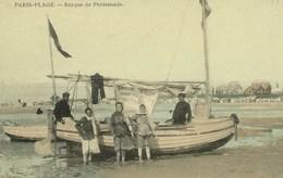 Le Touquet - Paris Plage - Barque De Promenade - Le Touquet