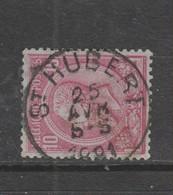 COB 46 Oblitération Centrale ST-HUBERT - 1884-1891 Leopold II