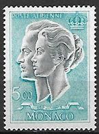 MONACO    -   Poste Aérienne   -    1966 .   Y&T N° 89 ** .  Couple Princier - Poste Aérienne