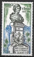 MONACO    -   Poste Aérienne   -    1969 .   Y&T N° 93 ** . Statue Du Compositeur Hector Berlioz - Poste Aérienne