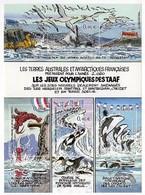 Timbres - Terres Australes JEUX Olympiques Des TAAF N° 7 (valeur 1.84 Euro) - Hojas Bloque