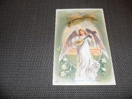 Anges ( 85 )  Ange  Engelen  Engel  Carte Gaufrée  Reliëf - Anges