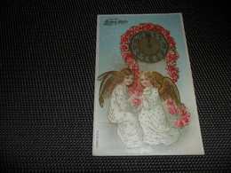 Anges ( 86 )  Ange  Engelen  Engel  Carte Gaufrée  Reliëf - Anges