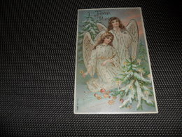 Anges ( 87 )  Ange  Engelen  Engel  Carte Gaufrée  Reliëf - Anges