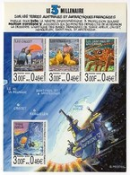 Timbres - Terres Australes JEUX Olympiques Des TAAF N° 4 (valeur 1.84 Euro) - Blocks & Sheetlets